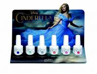 Gelish display 6 couleurs de la collection Cinderella (6x15 ml)