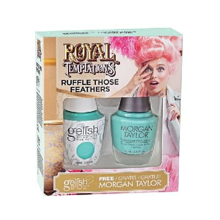 Gelish Two Of a Kind Ruffle Those Feathers de la collection Royal Temptations (15 ml)