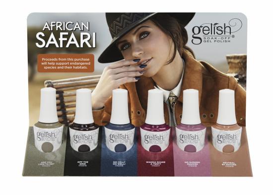 Collection Gelish African Safari 2018 (6x15ml)