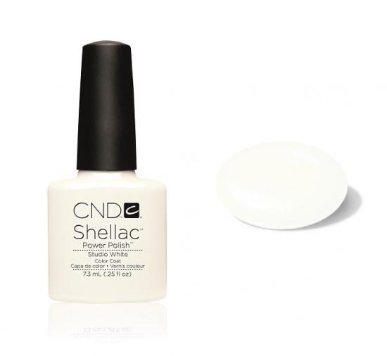 CND Shellac Studio White 7,3ml