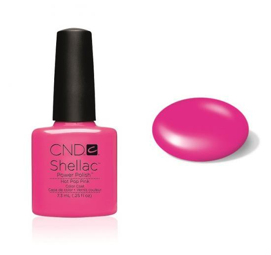 CND Shellac Hot Pop Pink 7,3ml