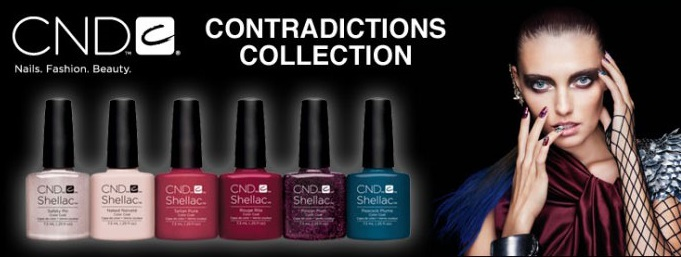 Cnd shellac contradictions collection fall 2015 banner diva nails