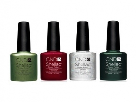 Cnd shellac holiday charmed collection 1