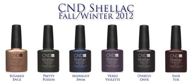 Cnd shellac new fall winter 2012 shades