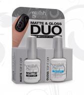Gelish Duo Top it Off Classic + Matte Top it Off