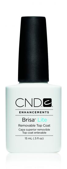 CND Brisa Lite Removable Top Coat (15 ml)