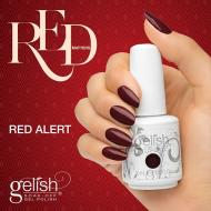 Gelish Red Alert de la collection Red Matters -  Holiday 2015 (15 ml)