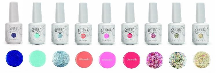 Gelish ful b cinderella diva nails bis