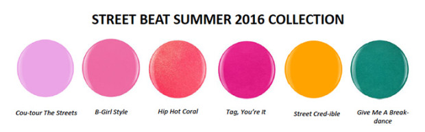 Gelish mini street beat ss16 swatches 620x193