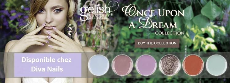 Gelish once upon a dream collection diva nails