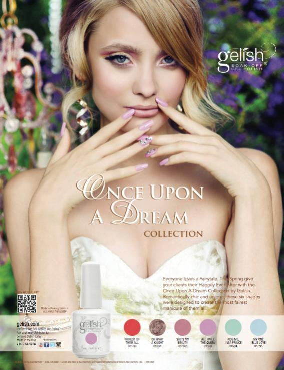 Gelish once upon a dream diva nails collection