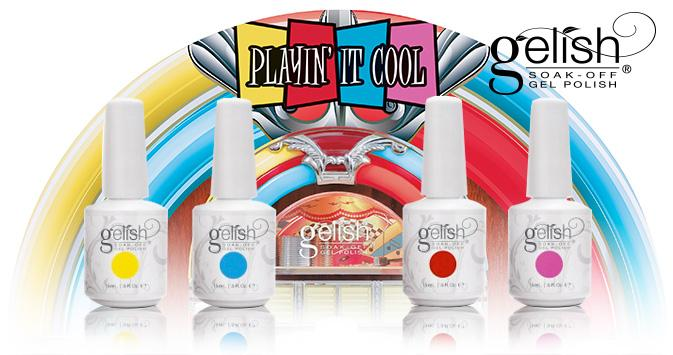 Gelish play it cool diva nails 1