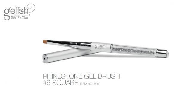 Gelish rhinestone gel brush 6 divanails 1