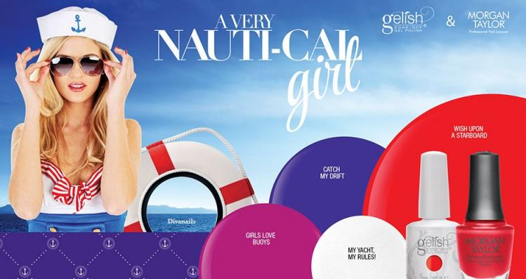 Gelsih nautical girl banner divanail