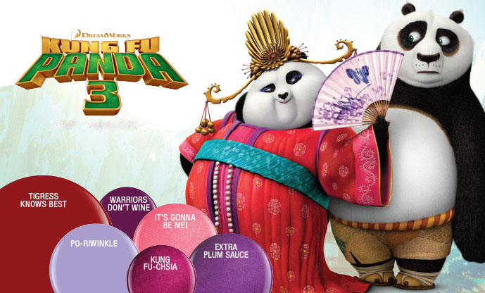 Harmony gelish kung fu panda 3 collection 2015 poster 03