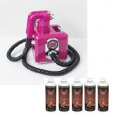 Vani-T Kit New Pro Cube Fushia Spraytan, équipement de Spray Tanning
