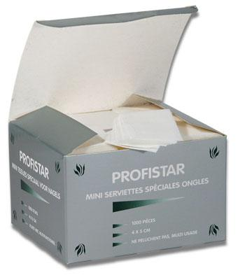 """Profistar """"Nail remover pads"""" 1000pce"""