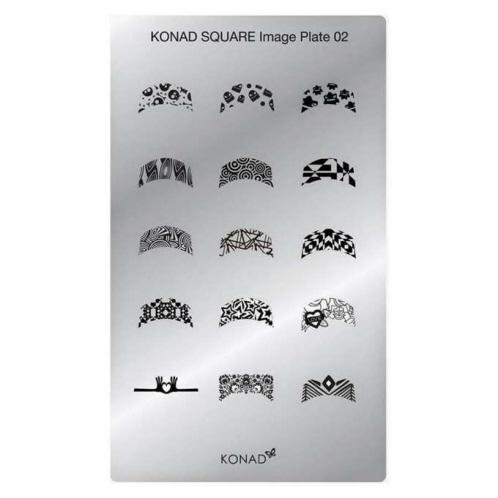 Konad Square image Plate 02