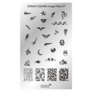 Konad Square image Plate 07