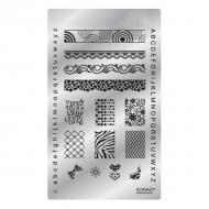 Konad Square image Plate Fancy 03
