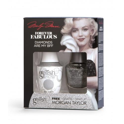 TOAK Gelish Diamonds Are My BFF de la collection Forever Fabulous (15 ml)