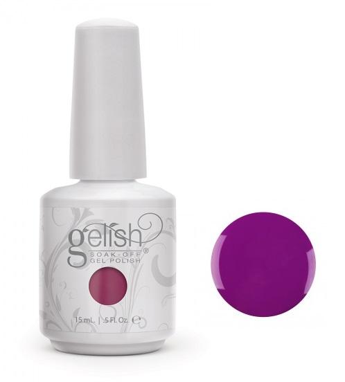 01023 gelish style mauve diva nails