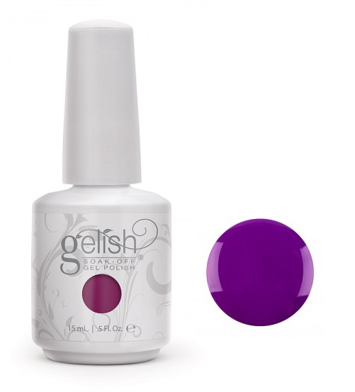 01024 gelish grape expectation diva nails