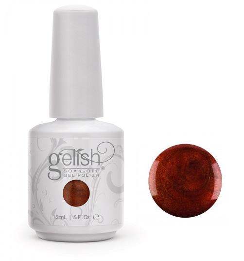 01028 gelish bronzed goddess diva nails