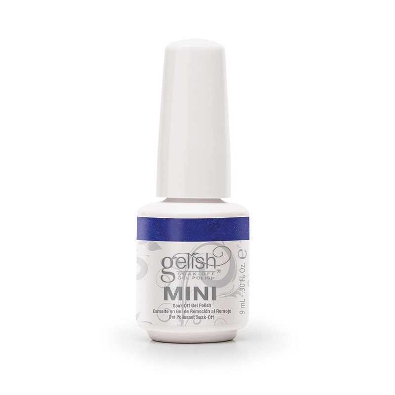 01055 gelish live like there s no midnight mini diva nails