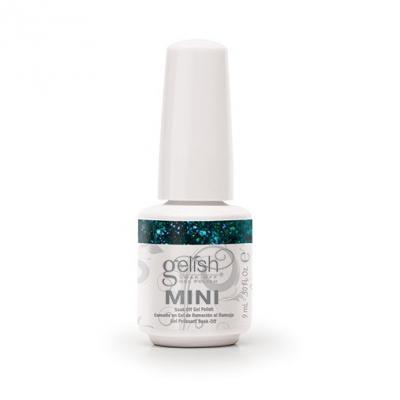 Gelish mini Kisses Under The Mistletoe de la collection Haute Holiday (9 ml)