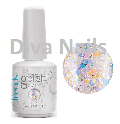 01626 gelish candy coated sprinkles diva nails a