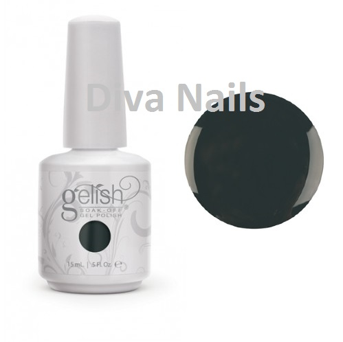 01845 color fall rake in the green diva nails