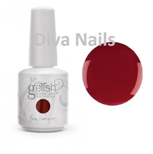 01847 gelish color fall hello merlot diva nails