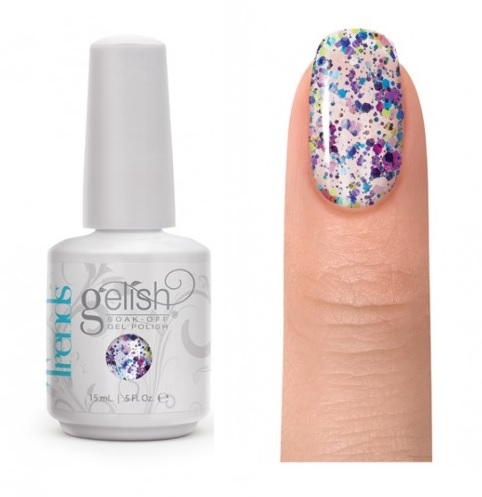 01957 gelish looking glass diva nails