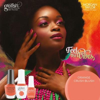 Gellish Orange Crush Blush en 15ml de la collection Feel the Vibes