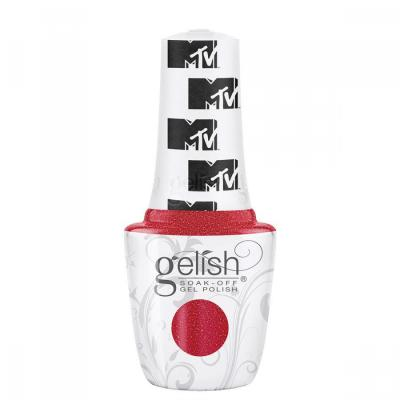 Gelish Total Request Red 15 ml de la collection Switch on Color
