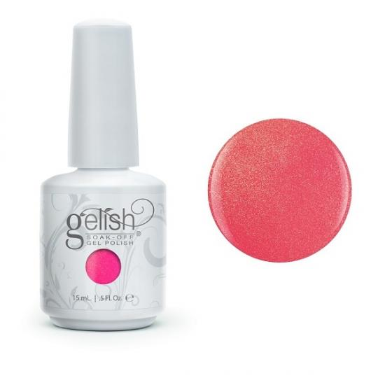 Gelish Hip Hot Coral de la collection Street Beat (15 ml)