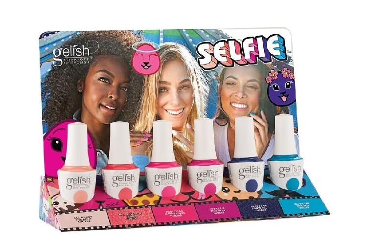 1100218 gelish selfie display