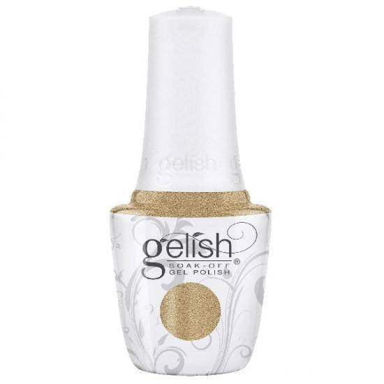 Gelish Gilded in Gold de la collection Champagne & Moonbeans (15 ml)