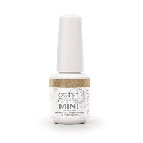 Gelish mini Gilded in Gold de la collection Champagne & Moonbeans (9 ml)