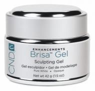 CND Brisa Gel Pure White Opaque (42 gr)