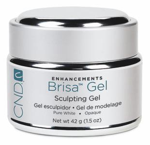 CND Brisa Gel Pure White Opaque (14 gr)