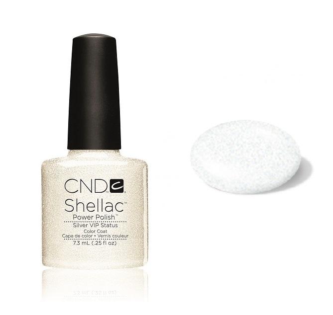 Cn01902 shellac silver vip status diva nails