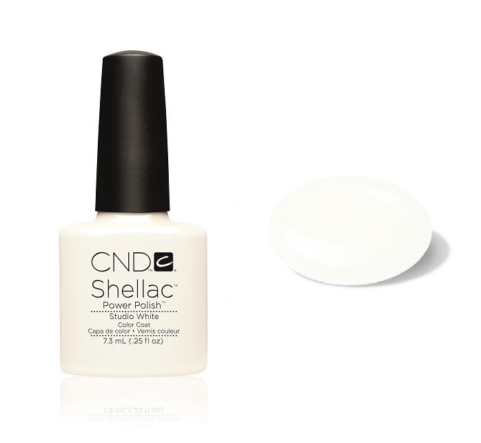 Cn01907 shellac studio white divanails