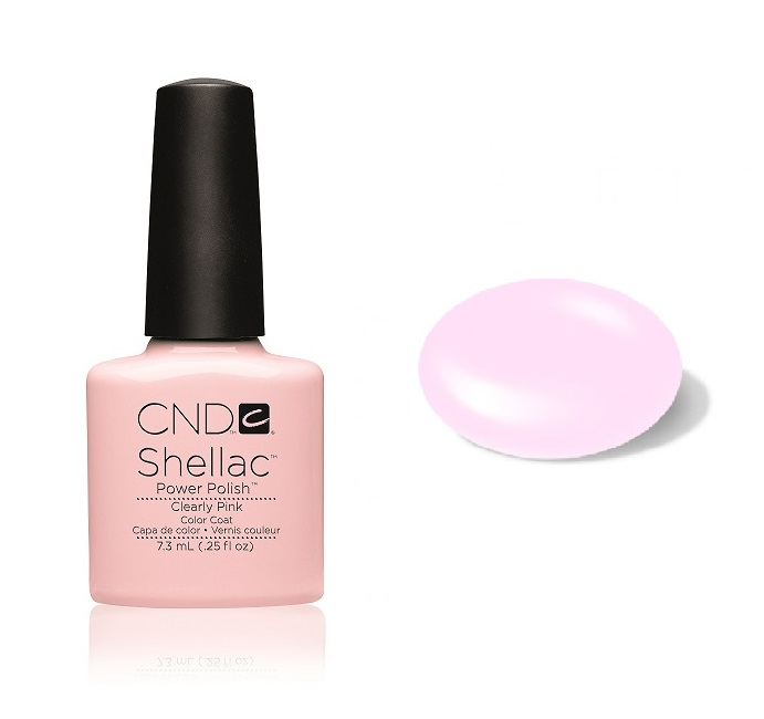 Cn01910 shellac clearly pink divanails