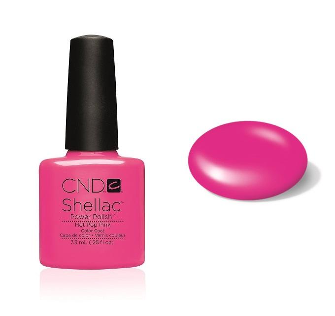 Cn01915 shellac hot pop pink divanails