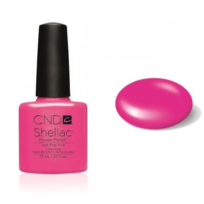 CND Shellac Hot Pop Pink 7,3ml