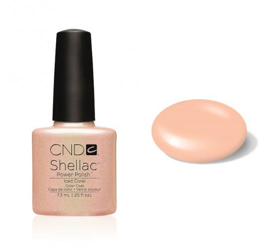CND Shellac Iced Coral 7,3ml
