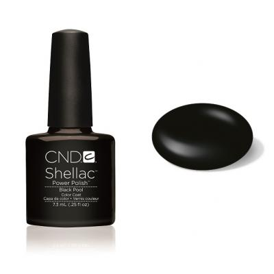 CND Shellac Black Pool 7,3ml