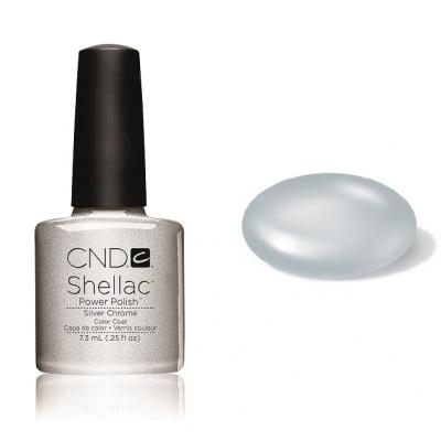CND Shellac Silver Chrome 7,3ml